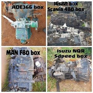 Assorted gearboxes