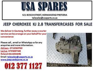 JEEP CHEROKEE KJ 2.8 TRANSFER CASES (FOR SALE)