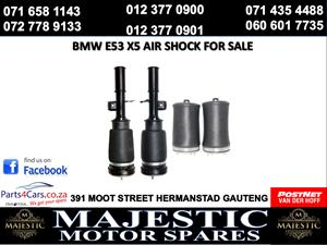 Bmw e53 air shocks for sale