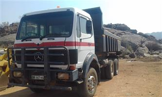 12 cubes tipper truck for sale.