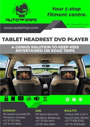 AUTO IMPI Tablet Headrest
