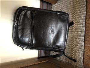 Leather laptop backpack Jekyll and Hide
