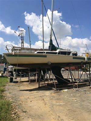 30 Foot Sail Boat swop for Motor Boat