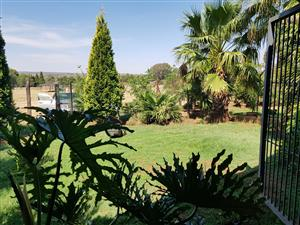 2 bedrooms Garden cottage to rent in Mooiplaats, on Boschkop road, available immediately