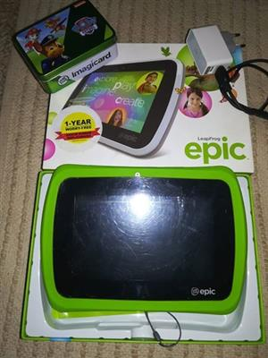 Leapfrog epic tablet for sale in excellent condition | Junk Mail