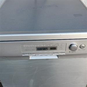 LG silver Dishwasher working good