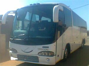 45 seater luxury bus to swop