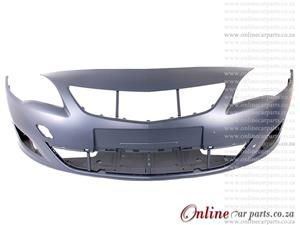 Opel Astra J 1.6 MK 5 Front Bumper Without T/HIT Cover Primed 2010-2012