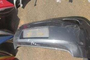 2014 FIAT PUNTO REAR BUMPER – USED(CR)