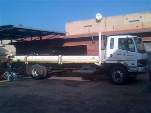 Mitsubishi - Fuso 8 Ton truck for hire with drop sides