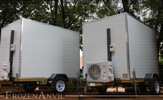 In Stock Mobile Freezers / Coolers, Mobile VIP Toilets