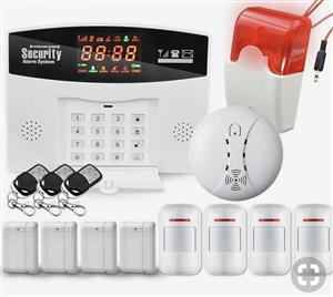 Alarm system maintenance