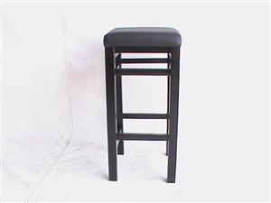 Barstool wooden brown.Available in red/black and baige