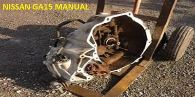 Complete Second hand used gearboxes, NISSAN GA15 MANUAL