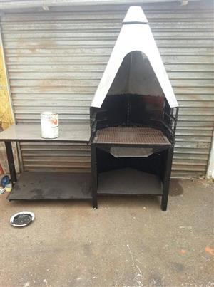 Large Cone braaier for sale
