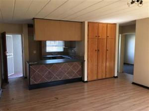 Kensington B secured 1 bedroom, kitchen, lounge and bathroom, built in cupboards with stove, no pets and no kids, close to all amnesties and main routes.