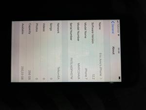 IPhone 7 256gig