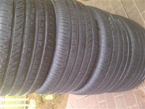 4xCooper Zeon tyres 295/35/21,Almost as new!!