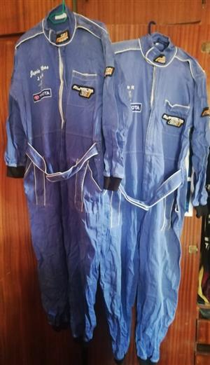 2 Fireproof racing suits