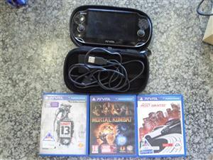 PS Vita + 3 Games