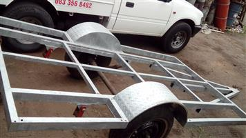 New galvanised trailer 3.000m x1.600m