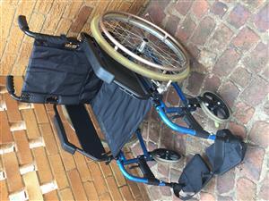 Roma Aluminium wheelchair