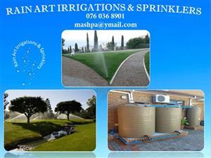 Rain Art Irrigation And Sprinklers.