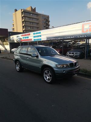 2003 BMW X series SUV X5 3.0i