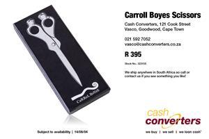 Carroll Boyes Scissors