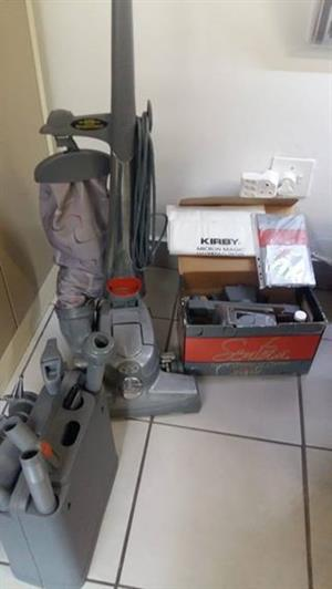 Kirby Vacuum cleaner and accessories