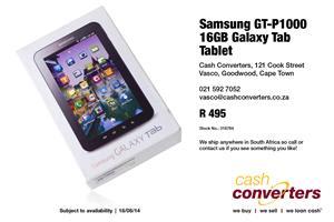 Samsung GT-P1000 16GB Galaxy Tab Tablet