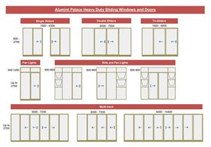 Alumint Palace Heavy Duty Sliding Windows and Doors