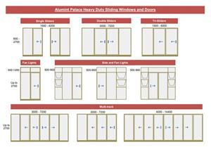 Alumint Palace Heavy Duty Sliding Windows and Doors