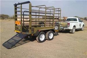 New Nugnet Livestock Cattle Trailer LS126