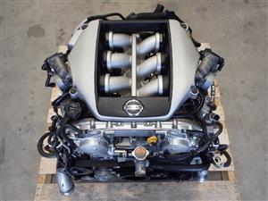Nissan R35 GTR VR38 VR38DETT Twin Turbo Engine 6 Speed Dual Gearbox GR6 J062