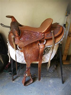 Western saddle for sale