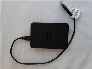 WD external 1TB HDD USB 3