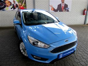 2017 Ford Focus hatch 1.5T Trend auto