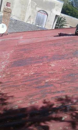 Corrugated zinc roof Repairs