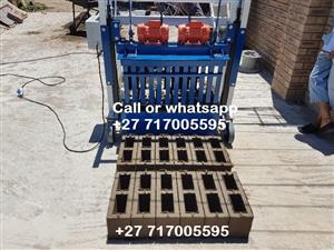 Manufacturers of Brick and Block Making Machines and Pan Mixers For Sale.