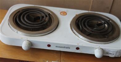 Essential spiral 2 plate stove S031449c #Rosettenvillepawnshop