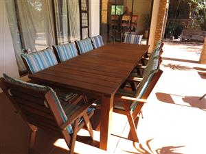 10 Seater Patio set