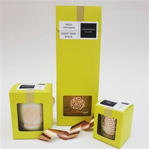 Aroma Soy Candles and Diffusers Personalised