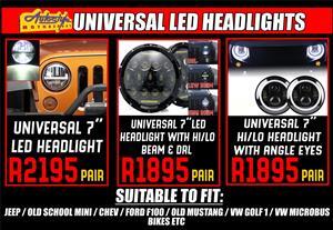 Universal 7 inch LED Headlight R2195