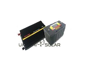 Special pair of 600W 12V Pure-Sine Wave Power Inverter and Battery