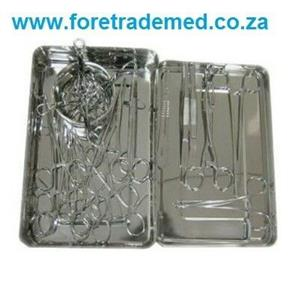 Brand New Surgical Set - Basic (24pc) with tray R2015.72
