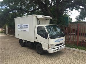 JMC 2.8tdi REFREGERATED TRUCK FOR SALE