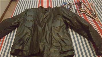 Bikers jacket – full leather. For sale R800.00