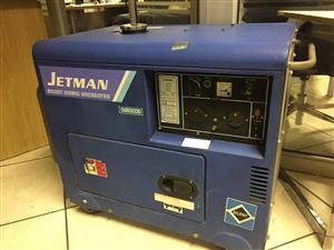 JETMAN Silent Diesel Generator DG5000S