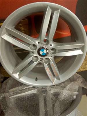 BMW M SPORT 18 INCH RIMS FOR SALE